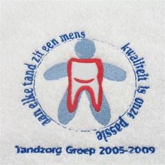 Sportsjaal met logo