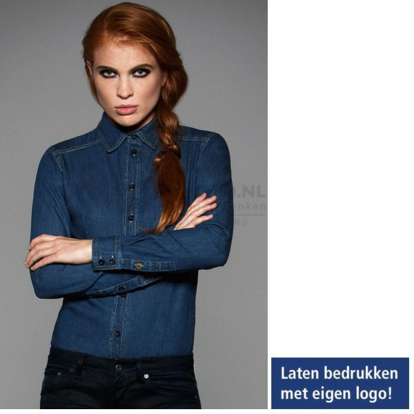 jeans overhemd dames