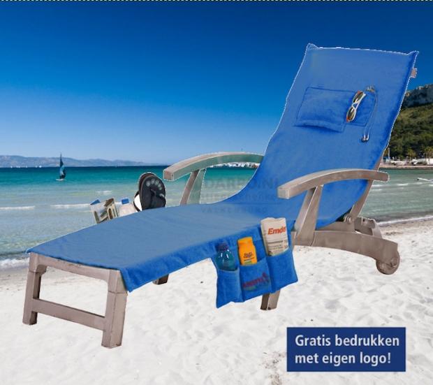 Strandlaken wordt strandtas.