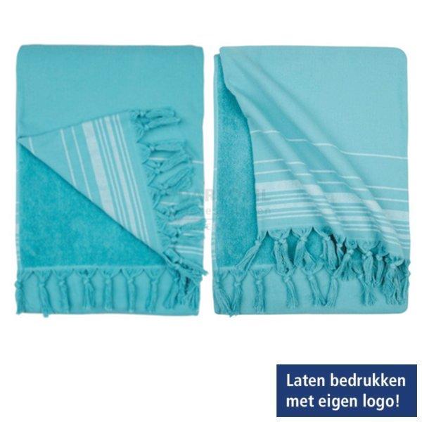 Hamman, handdoek, bedrukken, logo