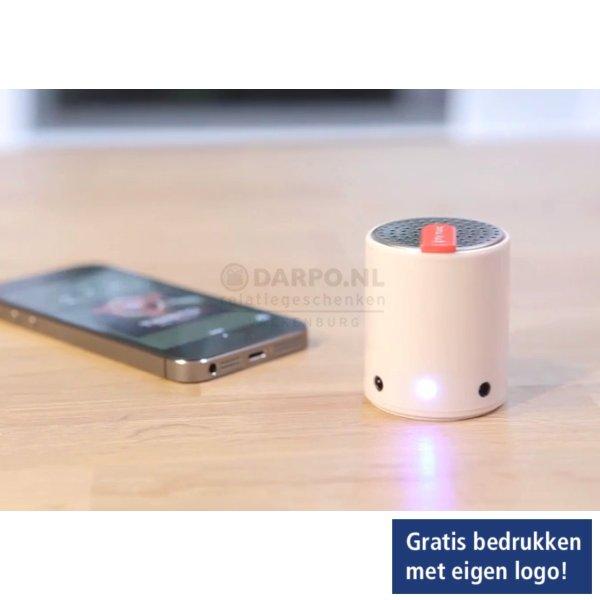 speaker, mini,luidspeaker,bedrukken,relatiegeschenken