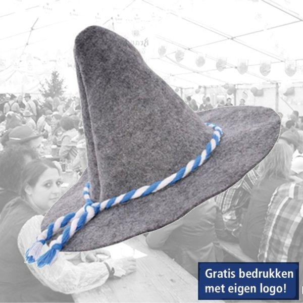 Bedrukken, hoed, oktoberfeest, Tiroolse hoeden.