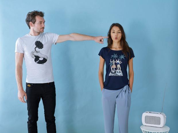 T-shirts, shirts Stella Stanley, bedrukken, textieldruk